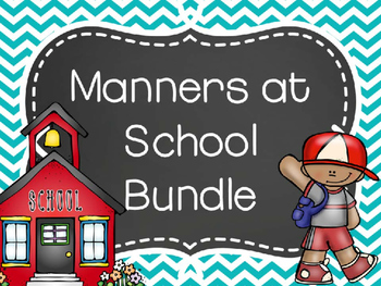 Manners at School Bundle