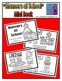 Manners at School Mini Book