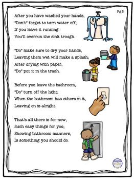 Manners In The Bathroom Do S And Don Ts By Education With