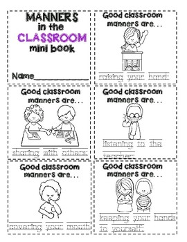 Manners in the CLASSROOM