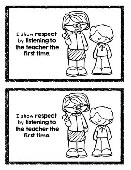 Manners on the Playground Mini Book