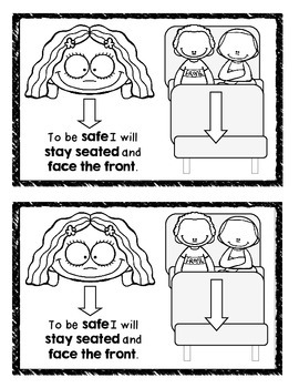 Manners on the School Bus Mini Book