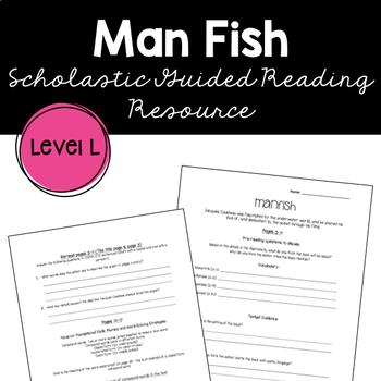 Manfish by Jennifer Berne Guided Reading Supplemental Worksheet