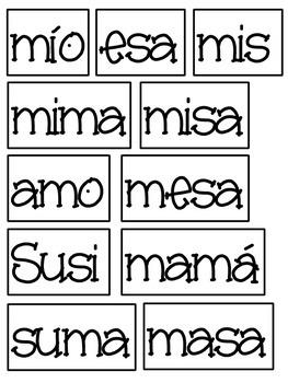 Manotazo/ Slap it! (SPANISH SIGHT WORDS)