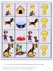 Dogs Math and Literacy File Folder Games for Centers or St
