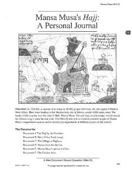 Mansa Musa: DBQ