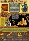 Mansa Musa African Ruler Infographic