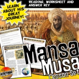 Mansa Musa's Great Journey A Common Core Writing and Literacy Activity