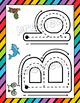 Manteles Alfabeto para Play-doh, Spanish Alphabet Play-doh Mats