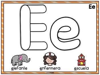 Manteles de las Vocales (Spanish Vowels Playdough Mats)