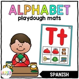 Spanish Alphabet Playdough Mats