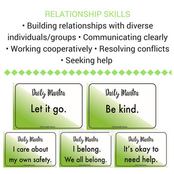 Social Skill Resource cards (With Discussion Points)