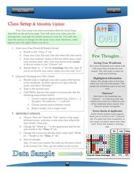Manual Guide - Att_ONE Excel Workbook