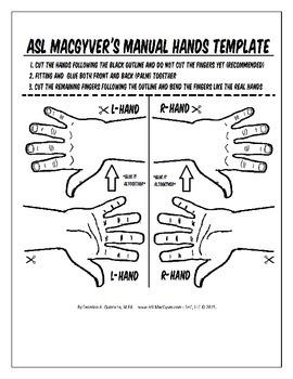 Manual Hands Template