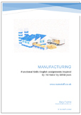 Manufacturing for Functional Skills English