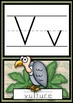 Manuscript Alphabet Posters - Safari/Jungle Theme