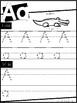 Manuscript Alphabet Worksheets