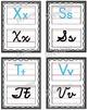 Manuscript/Cursive Alphabet Posters Set