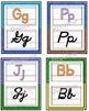 Manuscript/Cursive Alphabet Posters Set ~ Crayon Theme