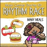 Many Meals Rhythm Race - Music Center Starter