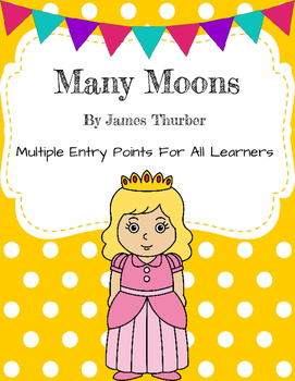 Many Moons Differentiated Activities - Grade 1 Ready Gen Unit 5A