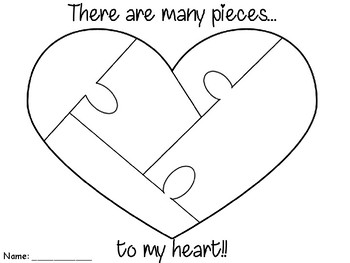 Many Pieces To My Heart Writing
