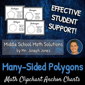 Many-Sided Polygons: DIY Math Anchor Chart CLIPCHART