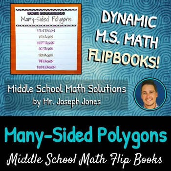 Many-Sided Polygons Flip Book