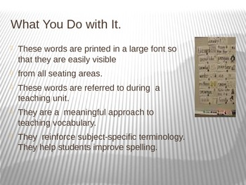 Many Things To Know About Word Walls