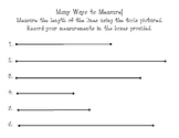 Many Ways to Measure