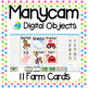 Manycam Objects: 11 Farm Flashcards for Teaching English Online
