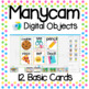 Manycam Objects: 12 Beginner Basic Flashcards for Teaching English Online