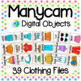 Manycam Objects: Clothing Clothes Flashcards for Teaching English Online