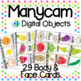 Manycam Objects: Fruits and Vegetables Flashcards for Teaching English Online