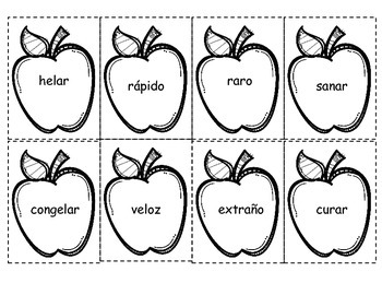 Manzanas Sinonimas