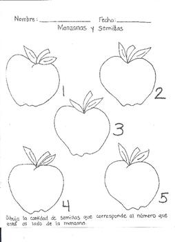 Manzanas y semillas