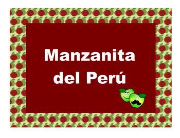 Manzanita del Peru: Age, Counting, and Diminutives (-ito / -ita)