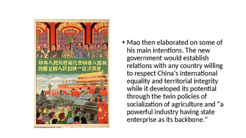 IB and A-Level and AP Mao - Details on Great Leap and Cultural Revolution