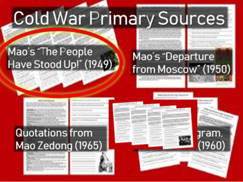 """Mao """"The People Have Stood Up"""" Speech: Chinese Civil War/Cold War Primary Source"""