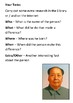 Mao Zedong Timeline and Quotes Handout