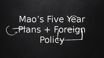 Mao's Five Year Plans