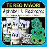 Maori Alphabet Frieze, Flashcards and Poster Beautiful Toi Toi Design