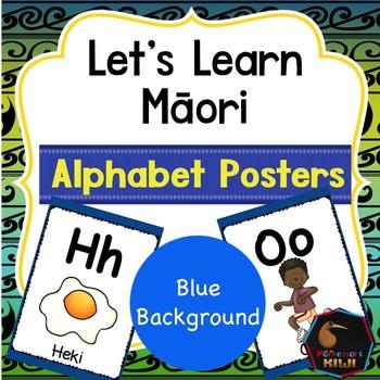 Maori Alphabet Posters