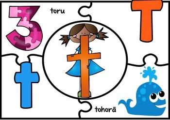 Maori Alphabet Puzzles