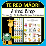 Maori Animal Bingo - Te Reo Maori Bingo Game for Preschool & K-2 kids Animals