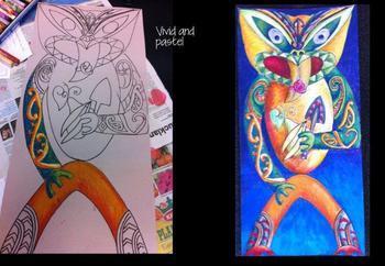Maori Art: How To Draw Poupou