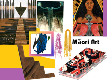 Maori Art - Indigenous - New Zealand - Art - FREE POSTER