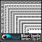 Maori Borders Clip Art