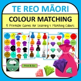 Te Reo Maori COLOUR Matching Games Learn and Sort Colours with 5 Cute Games