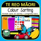 Te Reo Maori Colour Sorting Game
